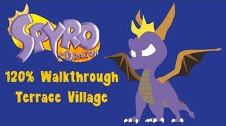 Spyro the Dragon 120% Walkthrough - 20 - Terrace Village