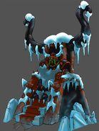 Ice King throne