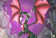 Cynder with a crystal