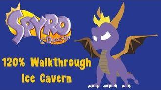 Spyro the Dragon 120% Walkthrough - 10 - Ice Cavern