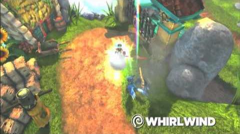 Skylanders Spyro's Adventure - Whirlwind Preview Trailer (Twists of Fury)