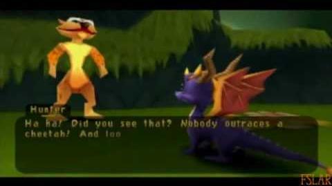 Spyro Year of the Dragon - 100% - Honey Speedway