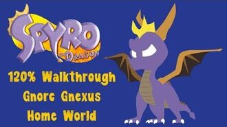Spyro the Dragon 120% Walkthrough - 31 - Gnorc Gnexus