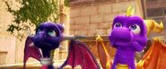 Spyro and Cynder