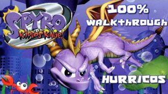 Spyro 2 - Ripto's Rage! 100% Walkthrough - 6 - Hurricos