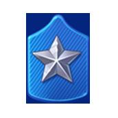Badge Military Level 68