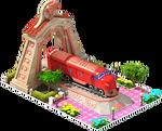 Bronze NOHAB Locomotive Arch