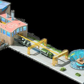 Coastal Missile Systems Conveyor