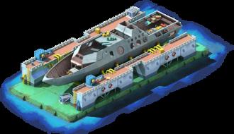 LCS-56 Coastal Ship Construction