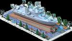 Silver LCS-48 Coastal Ship