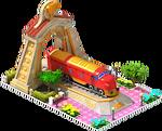 Gold NOHAB Locomotive Arch