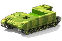 MP-67 Medium Tank Construction
