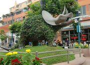 RealWorld Dinosaur Fountain