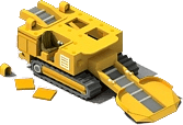 TBM-11 Drilling Machine Locked