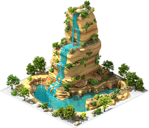 File:Waterfall with Cliff.png
