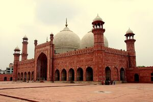 RealWorld Badshahi Mosque