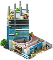 Shanghai World Financial Center Construction