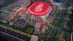 RealWorld Detroit Red Wings' Future Arena