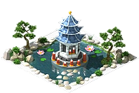 Lakeside pagoda
