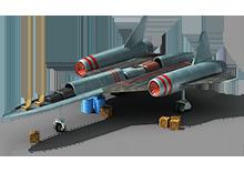 SB-52 Strategic Bomber Construction