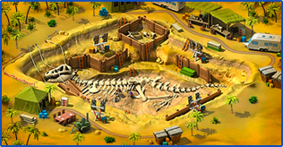 Dinosaurs in Megapolis Event