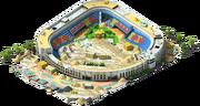 Large Baseball Stadium Construction