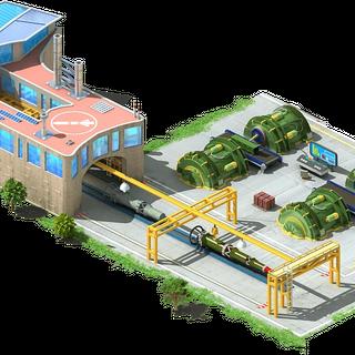 Inter-Continental Ballistic Missile Conveyor