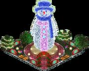 Charlie the Snowman (Night)