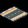 Road with Bike Lane