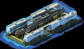 NS-12 Nuclear Submarine Construction