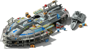 IL-53 Interstellar Liner Locked