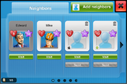 Neighbors android client