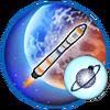 Mission Orbit around the Earth