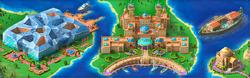 Floating Palaces Background