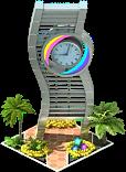 City of the Future Clock