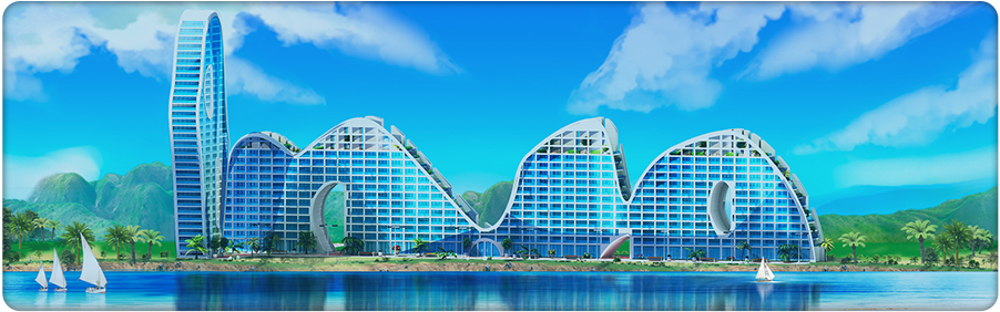 Fake Hills Residential Complex (Quest) Background