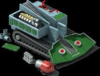 TBM-45 Drilling Machine Locked
