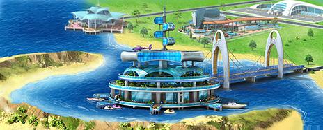 Oceanic Platform Artwork