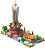 Gold CMS-24 Monument