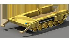 HP-61 Heavy Tank Construction