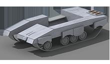 HP-15 Heavy Tank Construction