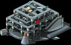 SS-10 Spaceship Locked