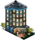 Luxury Apartment Building (Night)