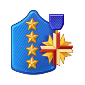 File:Badge Military Level 100.png