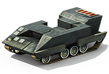 LP-68 Light Tank Construction