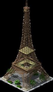Building Eiffel Tower