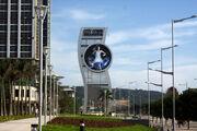 RealWorld City of the Future Clock