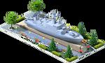 Silver LCS-24 Coastal Ship
