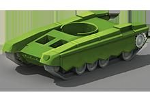 MP-55 Medium Tank Construction