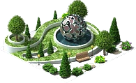 File:Decoration Park with a Metal Sphere.png